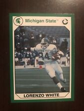 1990 Michigan State Spartans #86 - Lorenzo White - Football