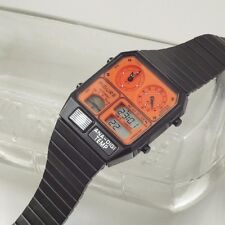 Figure Citizen Ana-Digi-Temp Watch JG2002 JG2000 Japan Limited Edition Black