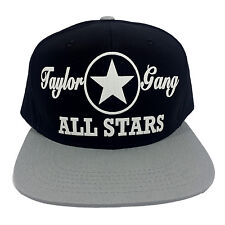TAYLOR GANG ALL STARS Flock Snapback Hat Cap