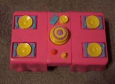Mattel Dora The Explorer Doll House Furniture Dinner Table 2003 GUC