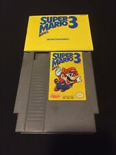 super mario 3 nes Bros On Left Version 1 With Manual