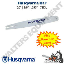"Genuine Husqvarna 20"" Bar 585950972 | 608000157 | 455 & 460 Rancher | 55 Rancher"