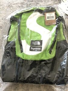 Supreme x North Face Collab Backpack Green