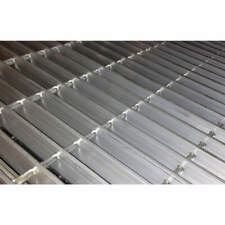 Metal Grating,Smooth,24In. W,1In. H 23188S100-A2