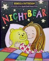 Nightbear by Rebecca Patterson new children's picture book bedtime story bear