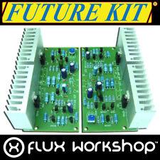 Future Kit Stereo Audio Amplifier DIY FK659 35W 10Hz 100kHz Solder Flux Workshop