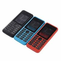 For Nokia 130 DS RM 1035 RM 1122 Full Phone Housing Cover Keypad Battery Cover