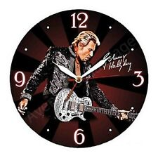 Pendule à accrocher Johnny Hallyday en concert neuf