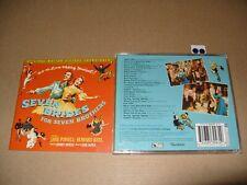 Seven Brides for Seven Brothers Soundtrack Original Cast, 1996) cd + Inlays Ex