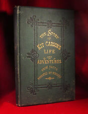 The Story of Kit Carson's Life and Adventures From Facts SALESMAN'S SAMPLE -RARE