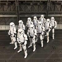 "Custom Star Wars First Order Stormtrooper 3.75"" Action Figure Lot of 1 -- 10pcs"