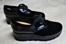 Plateauschuhe Schwarz Größe 41 von Fred , Sneakers , 6,5 cm , Neuwertig