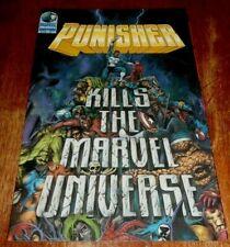 PUNISHER  KILLS THE MARVEL UNIVERSE # 1 NM  (1995 MARVEL)  1ST PRINTING.