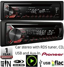 Pioneer Car Stereo Radio/CD/MP3/Radio USB AUX In ARC DEH-1900UB Android Control
