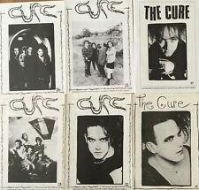 THE CURE OFFICIAL FANZINES CURE NEWS LOT RARE