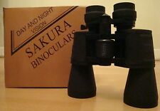SAKURA POWERFUL BINOCULARS 10-70 X 50 CRYSTAL CLEAR SHARP IMAGE DAY & NIGHT