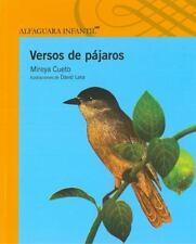Versos de Pajaros (Spanish Edition)
