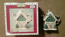 Sakura Debbie Mumm Christmas Mini Teapot Collector Series Sweet Gingerland MIB