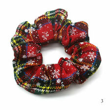 Christmas Elastic Large Hair Ring Scrunchie Ponytail Holder Hair Ties No.3