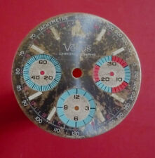 Used Original Dial for Venus Chronograph for Valjoux R 72 (watch parts) AS IS.