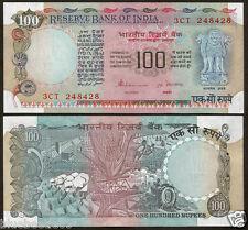 G-41 ★★ 100 Rupees S.Venkitaramanan 'Plain' Inset ~ Blue,Pink ~ UNC ★★ bb85