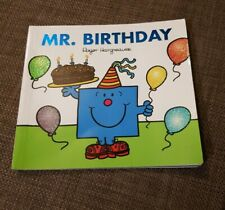 Mr. Men - Mr. Birthday by Roger Hargreaves with added Sparkle