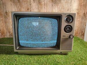 RETRO NEC 12P63 VINTAGE PORTABLE RARE TELEVISION Black and White