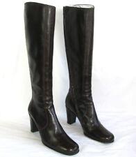 FREE LANCE - Bottes talons 8 cm cuir marron 38 - TRES BON ETAT