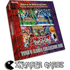 YuGiOh Yugi Kaiba Duelist Pack Collector Box Set Duel Deck Booster Packs Sealed