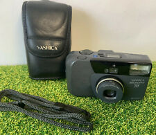 Yashica Kyocera Microtec Zoom 70  35mm Film Compact 35-70mm Zoom + Case