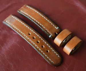 Mens Watch Strap Genuine Leather HANDMADE Wrist Band 18MM 20MM 22MM 24MM 26MM