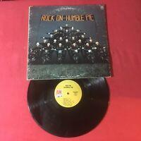 Humble Pie – Rock On     1971:1st Tan A&M SP-4301 MONARCH PRESSING *Vinyl VG+