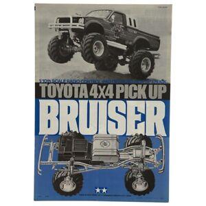 Tamiya Bruiser Toyota 4X4 Pickup 1/10 Scale Car Manual Rare OZRC ML