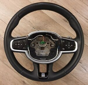 Genuine VOLVO S90 V90 XC90 2016 - Paddle Shift Steering Wheel R-Design 39834466