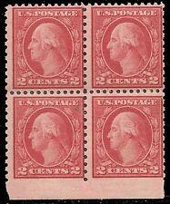 U.S. UNUSED 540    MNH    11 x 10  Block of 4  (R1491)