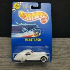 Hot Wheels Talbot Lago Darracq T 150 C Coupe White