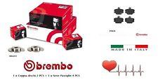 Dischi + Pastiglie Freno anteriori Brembo Smart Fortwo 451 1.0 52 kW 0.8 CDi