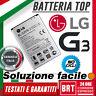 LG BL-53YH per G3 BATTERIA NUOVA ORIGINALE in BULK D850 D851 D855 D830 3000mAh