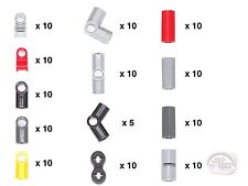 LEGO Technic - 125-pc Connector Collection - New - (NXT, EV3, Axle, Pin)