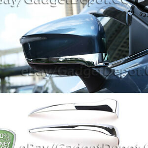 For 2013-2015 2016 Mazda CX-5 CX5 Chrome Mirror Bottom Stripe Bezel Covers Trim
