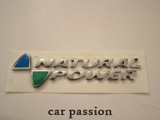SCRITTA STEMMA NATURAL POWER FIAT MULTIPLA ORIGINALE POSTERIORE logo emblem SIGN