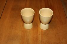 Vintage Grindley yellow egg cups