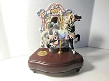 Vintage Westland Carousel Collection Carousel Horse Music Box LIMITED EDITION