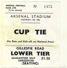 Billet: Arsenal et Manchester City 24/1/1978 League Cup REPLAY