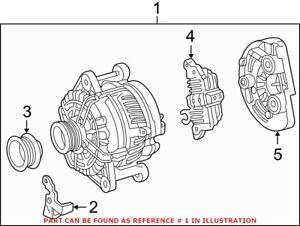Genuine OEM Alternator for Mercedes 014154010280