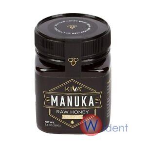 Kiva Raw Manuka Honey Certified UMF 20+ (MGO 850+) New Zealand 8.8 oz