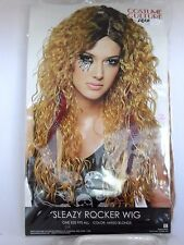 Women's Blonde Rocker Wig Halloween Costume Michele's Trick Or Treat Party