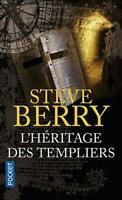 STEVE BERRY - L'HERITAGE DES TEMPLIERS - THRILLER -  LIVRE POCKET BE