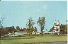 Duke Motor Lodge in Durham NC Roadside Postcard
