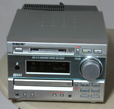 SONY HCD-MD373 CD MINIDISC SYSTEM - COMPACT DISC - MINI DISC - MD DISK - AMP